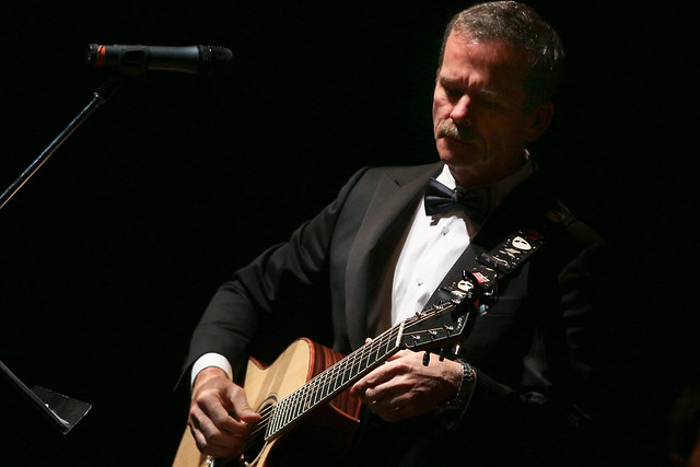 Chris Hadfield performs with the Windsor Symphony