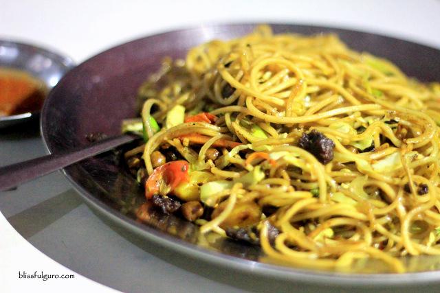 Dhulikhel Nepal Food Chow Mein Buff