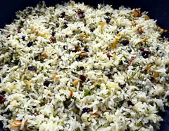 Persian bejeweled rice