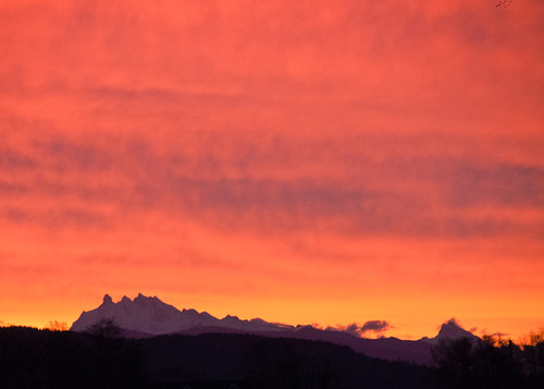 11-04-14 Sunrise in Skagit Valley