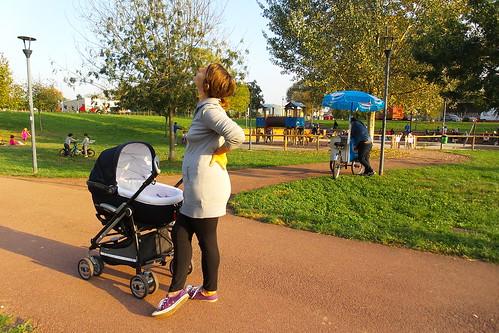 Un pomeriggio di carrozzine nel #parco