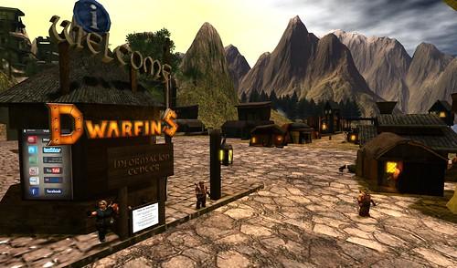 Dwarfins Welcome Area