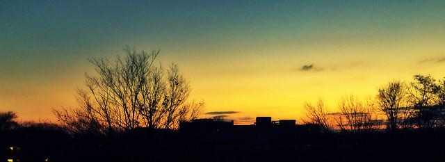 Sunrise Over Wright Quad