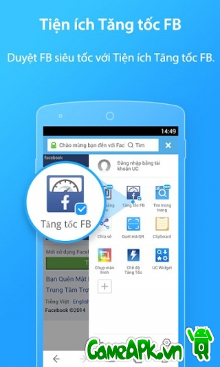 Ứng dụng UC Browser v10.0.0 cho Android