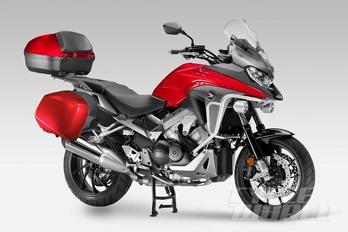 Honda VFR800X Tampil Lebih Garang