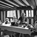 Typical Lunch Time meal in the Tudor times in Mary Ardens working farm house (Explored) by Bogger3.