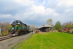 ADIX Halloween Train - Remsen Depot1