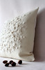 nest, wool felt pillow
