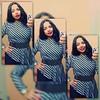 Soooo, my therapist said this dress reminded her of Star Trek... Mmmkay... Lol! #lucyintheloo #vintage #80s #stripeddress #peplum #stripes #puffyshoulders #aftertherapy #burgundylips