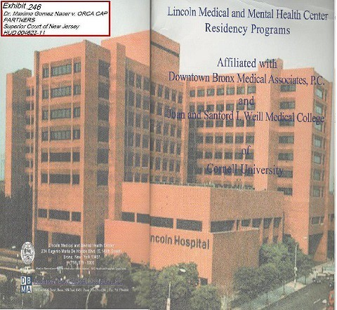 10202014 Exhibit 016 A Picture Of Lincoln Medical And Mental Health