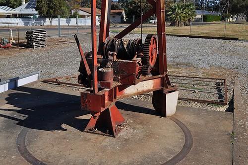 Yard Crane base