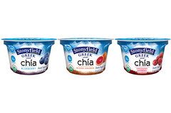 Stonyfield Greek and Chia yogurt
