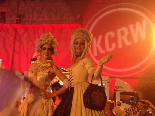 KCRW masquerade