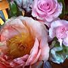 Pretty peonies & roses