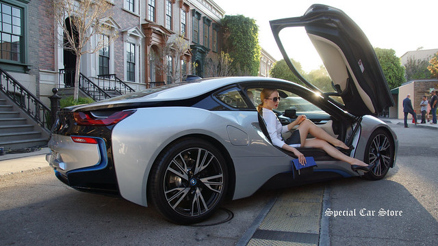 BMW i8: Charmaine Joie Couture- fashions and models