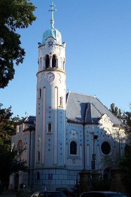 Церква Святої Єлизавети («Голуба церква»)