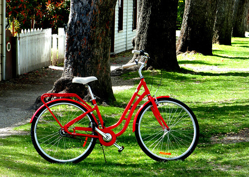 The Red Bicycle.