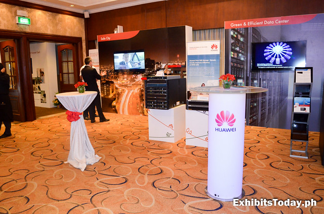 Huawei Philippines ICT Carnival inside the Intercontinental Manila