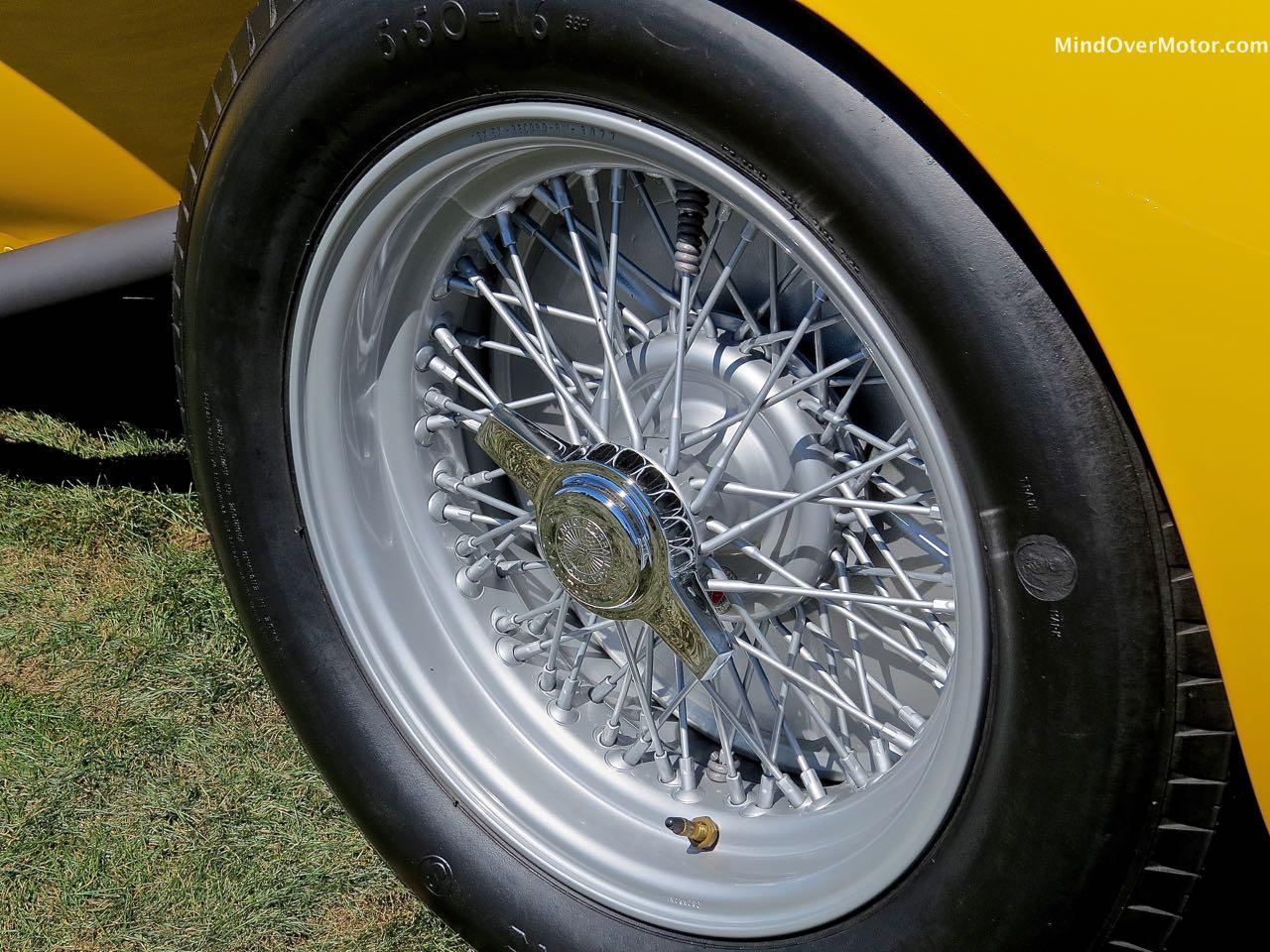 1958 Ferrari Testa Rossa Wheel