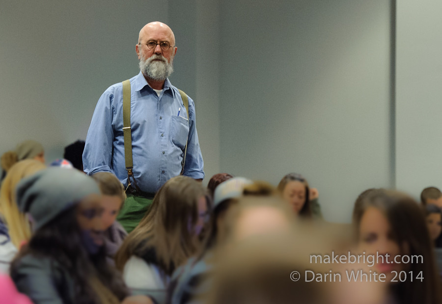 Larry Towell talk at WLU 050