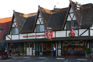 The Village of Solvang the retains parts of it's Danish Heritage.  California.