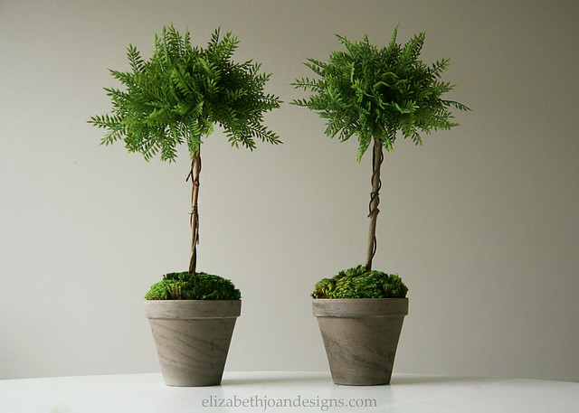 Faux Topiaries 12