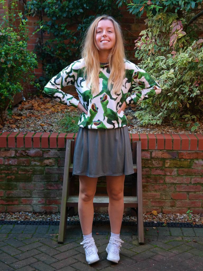 Dinosaur jumper on Jazzpad   Fashion blogger