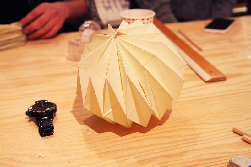 Origamiworkshop med Up the wooden hills hos Formfröken!