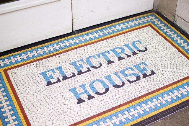 Electric Cinema mosaic