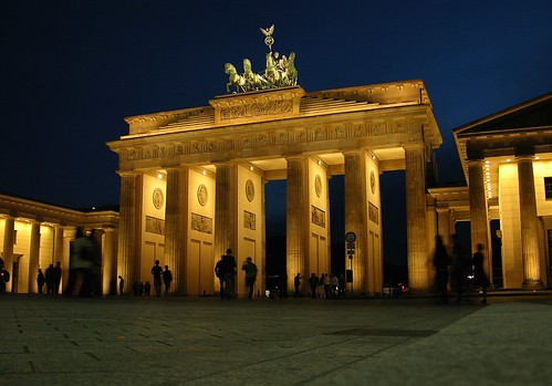 Brandenburg Gate by CC user 127437870@N08 on Flickr