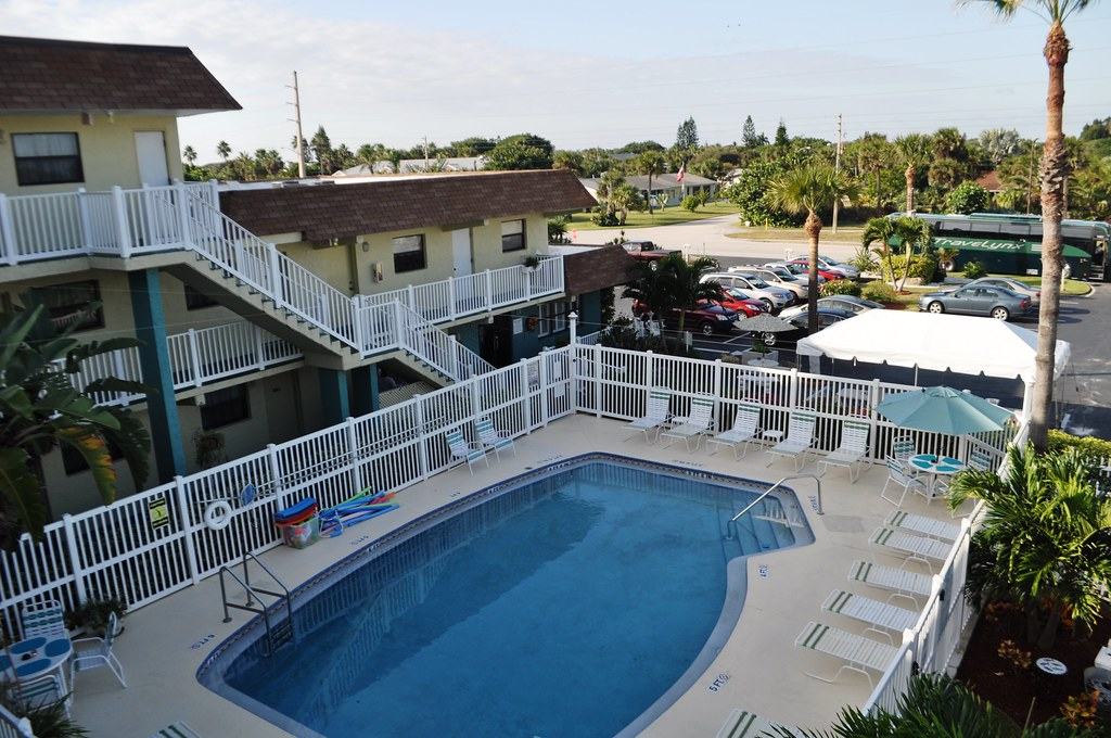 Tuckaway Shores Resort Swimming Pool, Indialantic, Fla., Nov. 7, 2014