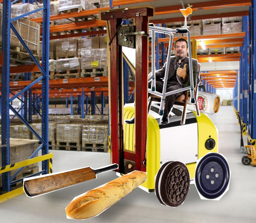Forklift Seams