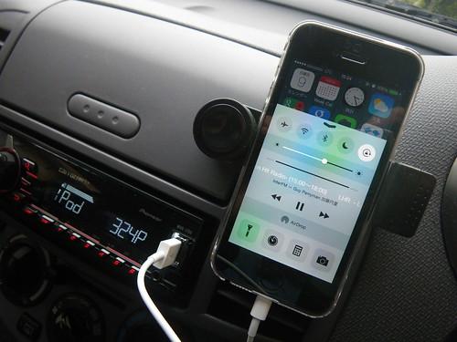 iPhone 車載ホルダー