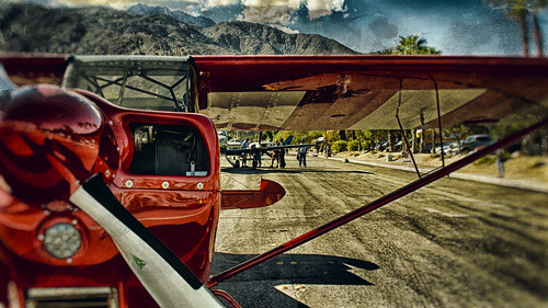 street red sky usa sunlight mountain reflection clouds plane airplane nikon shiny palmsprings wing coachellavalley d200 propeller 2014 hss riversidecounty sanjacintomountain aviationexpo sliderssunday hbmike2000 palmspringsaviationexpo
