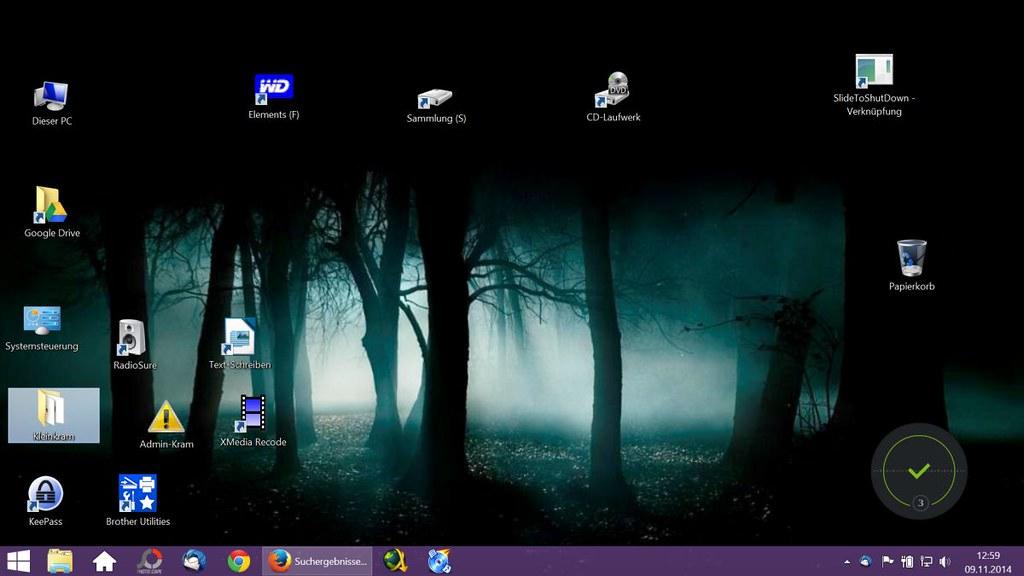 Mein aktueller Lenovo Laptop Desktop, on Flickr