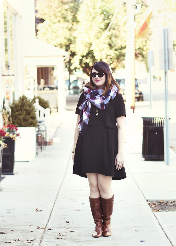 Madewell Dress + Scarf3