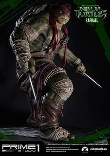 Prime 1 Studio《忍者龜:變種世代》1/4 「拉斐爾」比例雕像