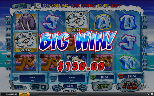free Wild Gambler - Arctic Adventure Big Win