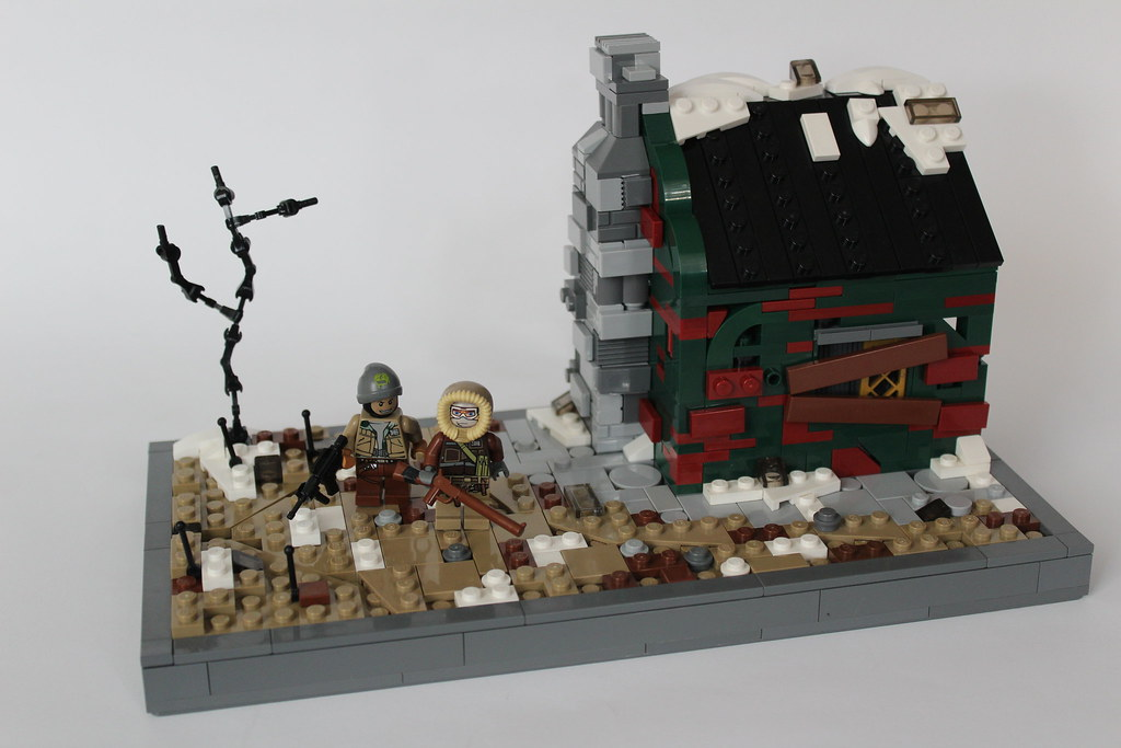 Rulers of No Man's Land (custom built Lego model)