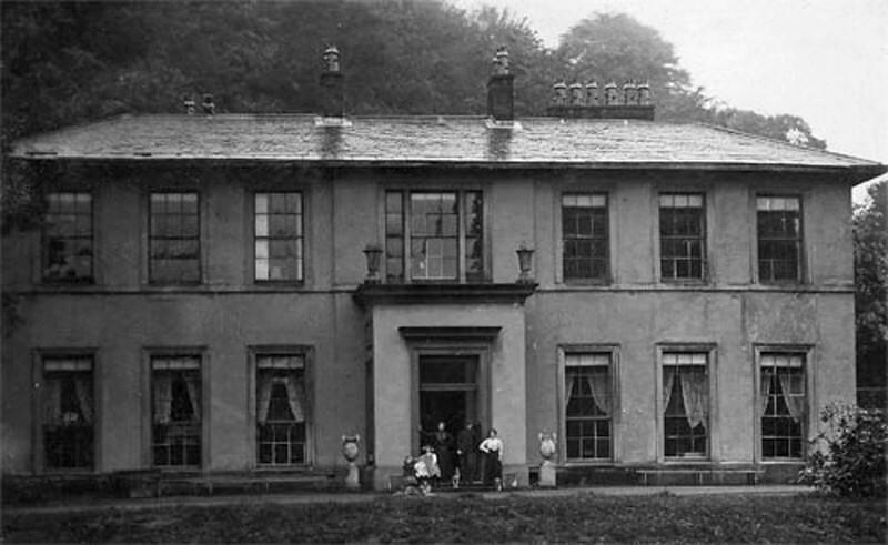 Feniscowles Hall - people at the door