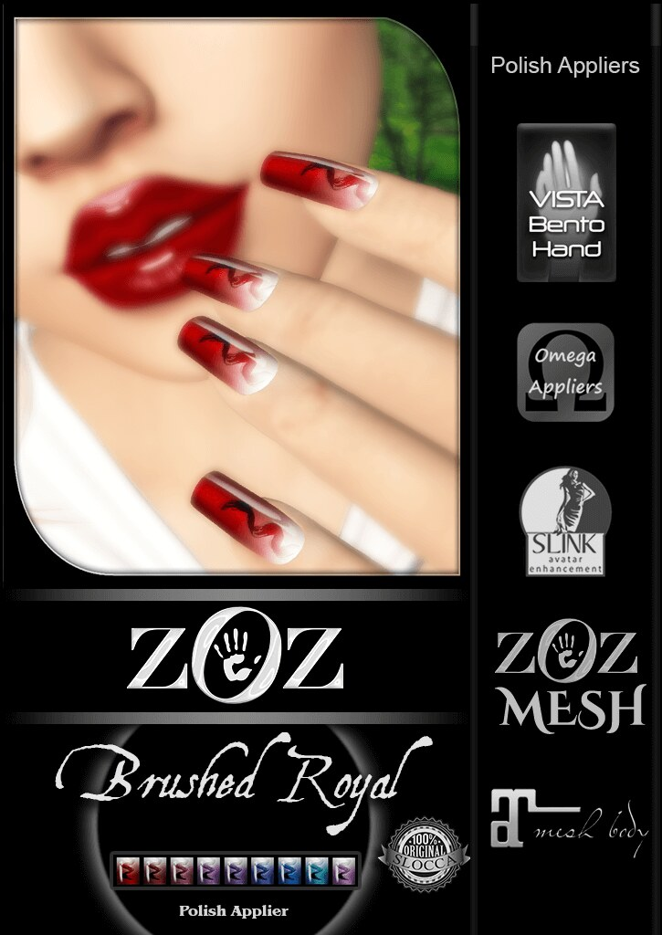 {ZOZ} Brushed Royal pix L - SecondLifeHub.com