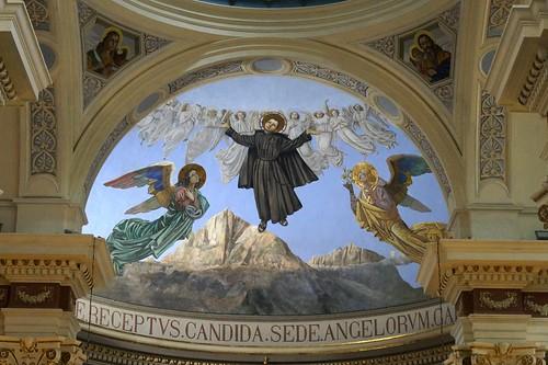 Affresco - San Gabriele
