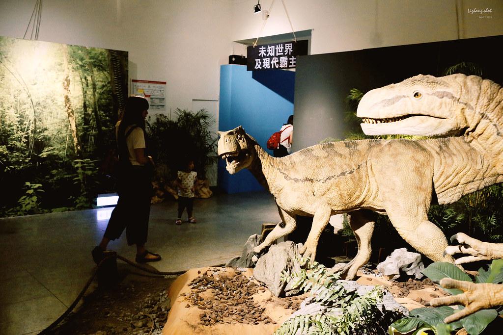 重聽不重看的白堊紀恐龍展