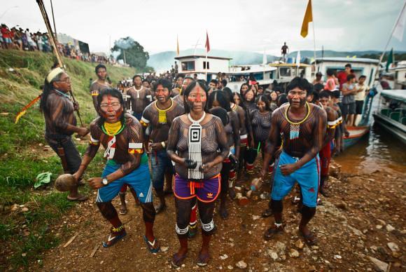 75% da população de pouco mais de 120 mil habitantes do município de São Félix do Xingu é indígena - Créditos: Thiago Gomes/Agência Pará