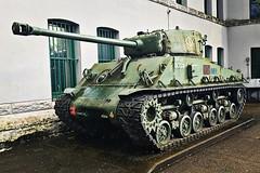 Sherman tank in Vancouver.