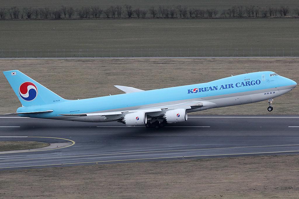 HL7639 - B748 - Korean Air