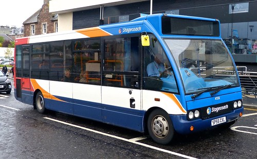 SP55 CXL Stagecoach The Highlands' 47232 Optare Solo  on 'Dennis Basford's railsroadsrunways.blogspot.co.uk'