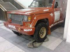 1987 Toyota BJ 71 Land Cruiser Dakar Vehicle