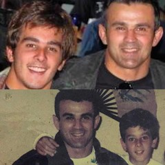 Ricardo and Ricardo jr Cavalcanti #sonsofcavalcantidallas #ricardocavalcantibjjdallas #iamcavalcanti