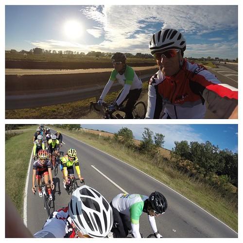 Salimos tempranito y con frío junto a Roberto Attianese y luego pasamos por @bike_point_pilar para una gran rodada hasta Zárate. 150k adentro! #epic5 #DesafíoEpic5 #bike #witl